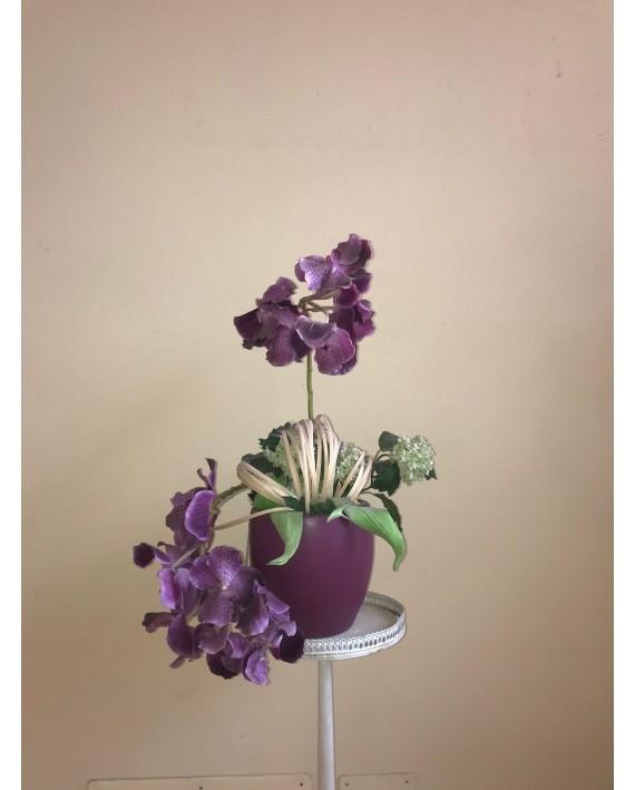 Orchidee e Ortensie verdi